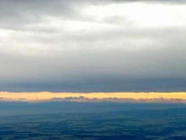 Alpenpanorama aus der Ostalb-Welle